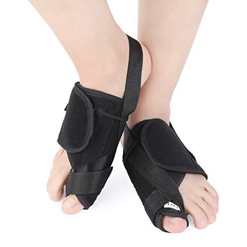 Bunion Corrector Bunion Pain Relief SupportTreat Pain in Hallux Valgus Big Toe Joint Hammer Toe Bunion Splints Big Toe Straightener for Hallux Valgus Aid Surgery Fits for Men & Women ()