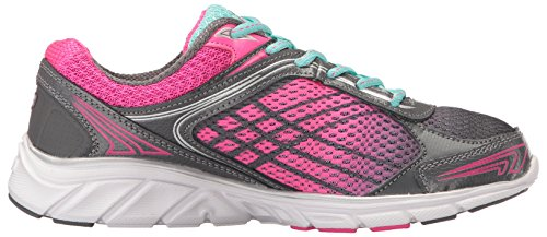 Fila Frauen Memory Narrow Escape Cross-Trainer Schuh Castlerock / Aruba Blau / Rosa Glo