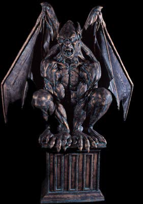BACK FROM THE GRAVE Gargoyle Master Animatronic Haunted House Halloween -