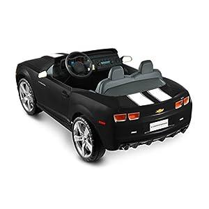 Kid-Motorz-12-Volt-Two-Seater-Racing-Black-Camaro