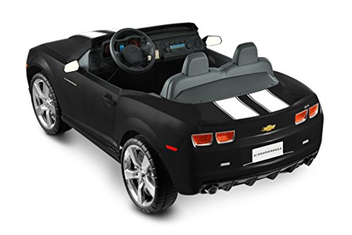 Kid Motorz 12 Volt Two Seater Racing Black Camaro Kids Cars