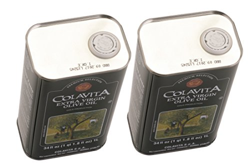 Colavita Extra Virgin Olive Oil, 34-Ounce Tins (Pack of 2) by Colavita (Image #7)