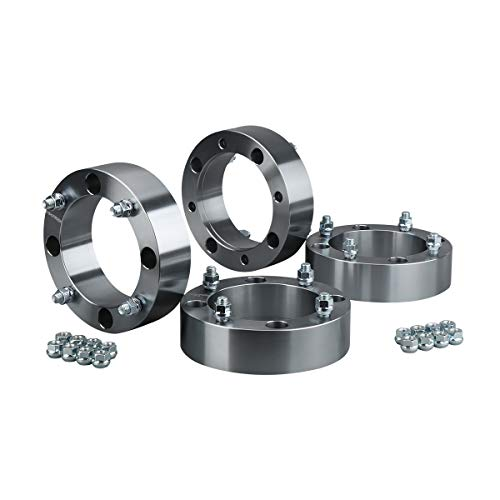 KSP 4x156mm ATV Wheel Spacers 2 Inches with 3/8-24 Studs, Fit For 1996-2012 Polaris Sportsman 500,4pcs (Polaris Sportsman Spacers)