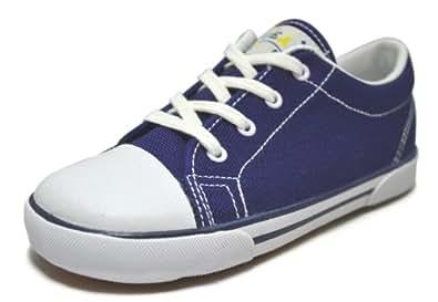 Peaks Kid's Skippy Low Navy Canvas Sneaker 12 W US