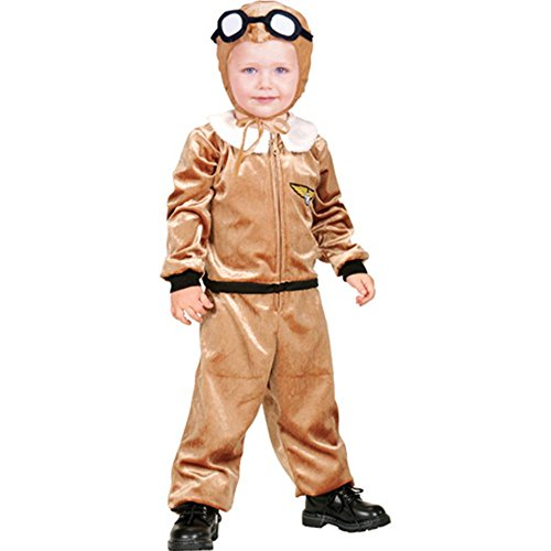 [Newborn Aviator Baby Costume] (Aviator Costume Toddler)