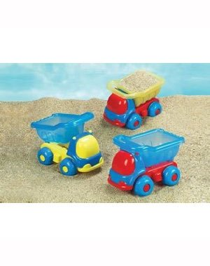 Small World Sand & Water Toys (Peek-A-Boo Dump Truck - Colors Will Vary) by Small World Toys