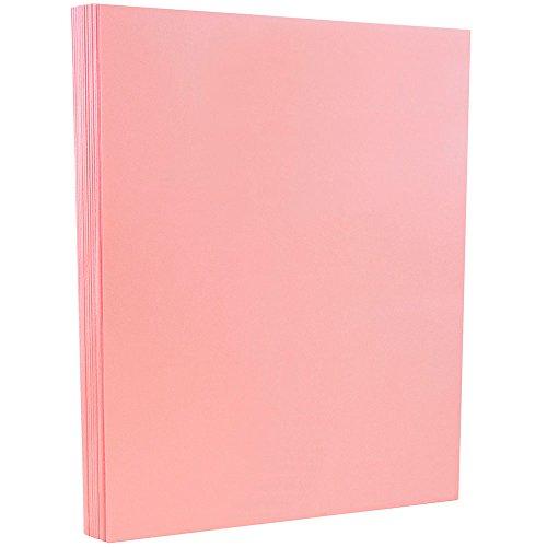 JAM Paper Vellum Bristol Cardstock - 8.5