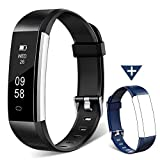 KEEPONFIT Fitness Tracker Watch, H2 Fitness Watch Activity Tracker with Sleep Monitor, Smart Pedometer Watch for Step Distance Calories Track