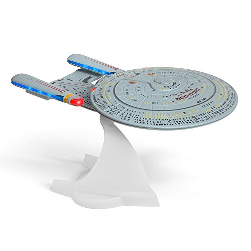 Star Trek TNG U.S.S. Enterprise NCC-1701-D Bluetooth Speaker With Sleep Machine, LED's & Sound Effects. Complete your Star Trek collection with the best collectible in the universe!