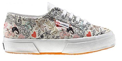 Superga scarpe personalizzate con Delicate (Prodotto Artigianale)