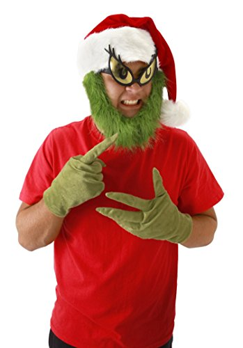 The Grinch Costumes (elope Grinch Gloves, Green, One Size)