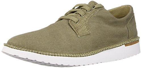 SPERRY Men's Camden Oxford Canvas, Taupe, 9.5