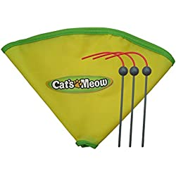 "Generic Undercover Mouse Replacement Spare Wand & 23"" Nylon Skirt for Cat's Meow Cat Toy As Seen on Tv"