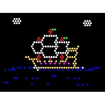 Lite Brite Refill: Things That Go (9x12 RECTANGLE) - NOT FOR NEW LITE BRITES - For pre-1990 Lite Brites only