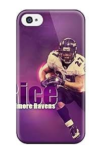 New Tpu Hard Case Premium Iphone 4/4s Skin Case Cover(ray Rice)