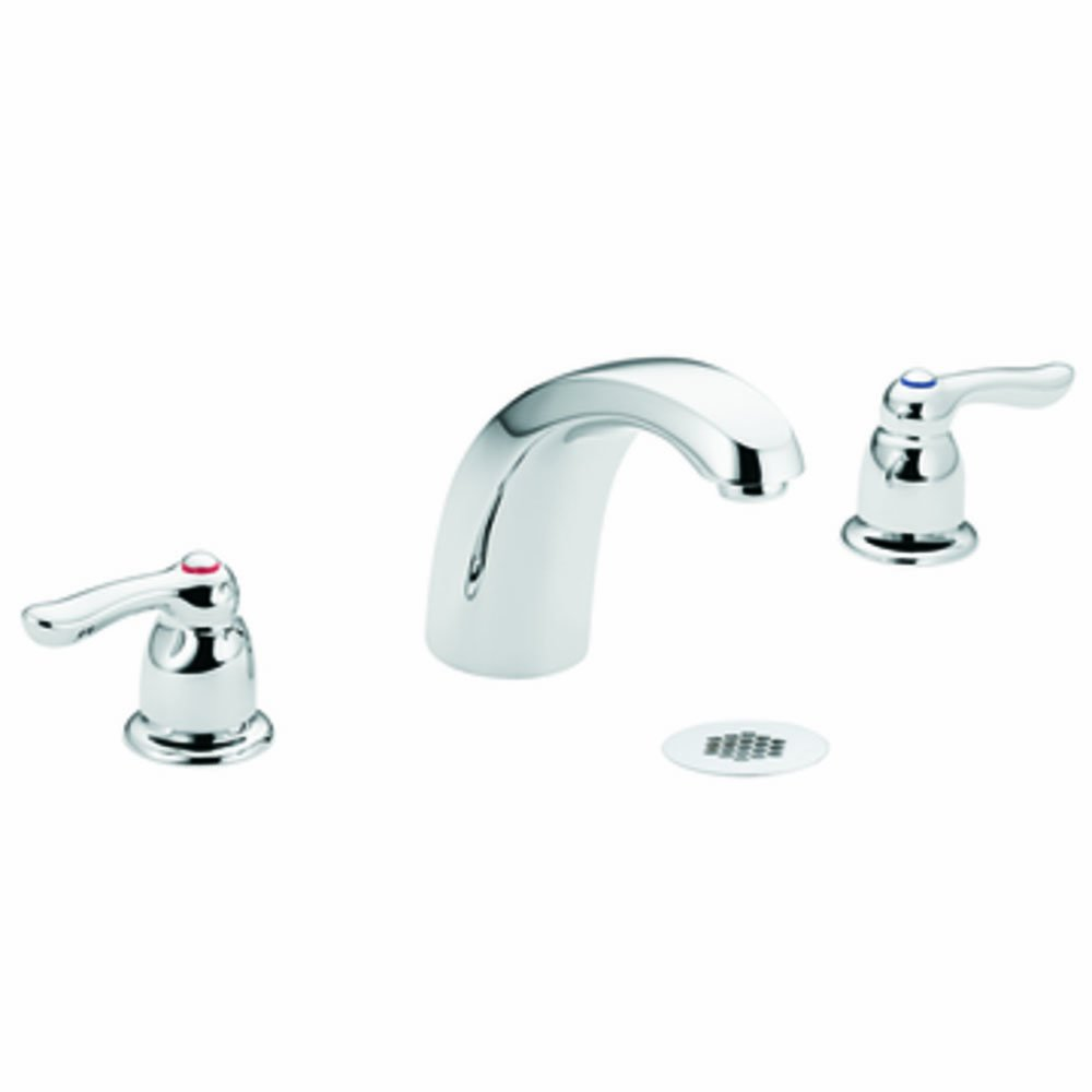 Moen 8924 Commercial M-Bition Widespread Lavatory Faucet with Grid ...