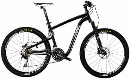 3439404766d Change 612 Rugged Folding Mountain Bike, Black, with Fox Performance air  Fork (26