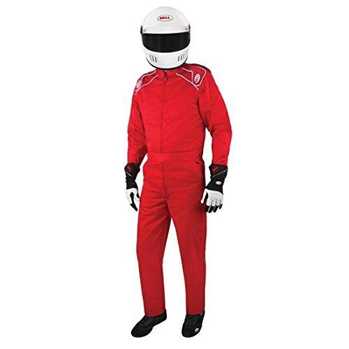 (Bell Pro Drive II 3.2A/1 Single Layer SFI 1-Piece Racing Suit-Blue XXL)