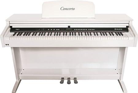 Delson/ringway 8871 Piano mueble Concerto color blanco lacado