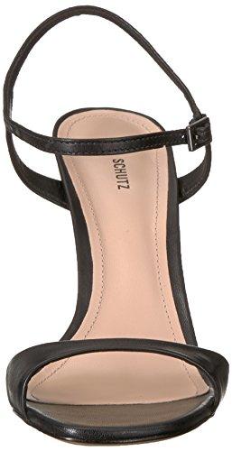 Schutz Women's Jade Heeled Sandal Black U7q77sVA