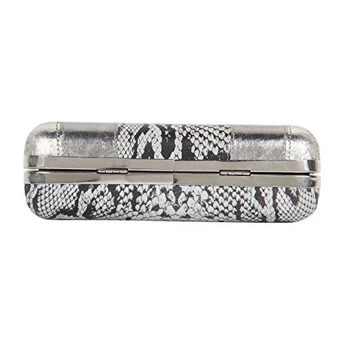 Vernice metallica con stampa pitonata-PT2152CL099 frizione