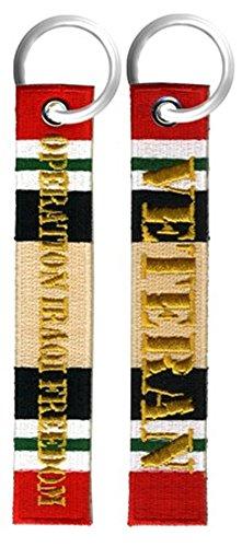- Operation Iraqi Freedom Veteran Key Chain