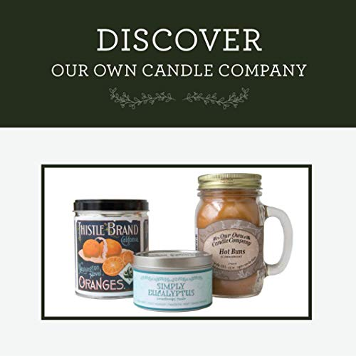 3 PK Our Own Candle Company Soy Wax Aromatherapy Candle Simply Bergamot 6.5 Oz