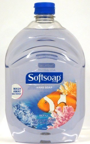 Softsoap Liquid Hand Soap, Aquarium Series, 64-Ounce Refill Bottle, Pack Of 4…