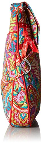 Bradley Paradise Triple Vera Signature Hipster Zip Paisley Cotton in 8df41