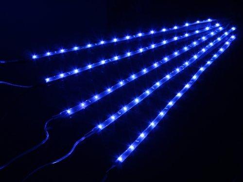 OrangeTag 5 Pieces 30cm 15 Leds SMD Waterproof Flexible Blue Light Strip Bar,car Light ...