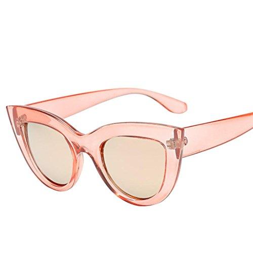Ojos Ultra Flat de Sunglasses Keepwin Mujer de Lenses sol Gafas Frame gato Light D Thin dnzaqa5TB0