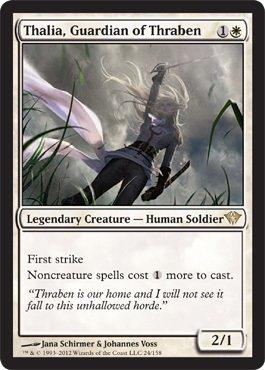 Magic: the Gathering - Thalia, Guardian of Thraben (24) - Dark Ascension