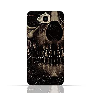Huawei Honor Holly 2 PlusTpu Silicone Case With Dark Skeleton Pattern