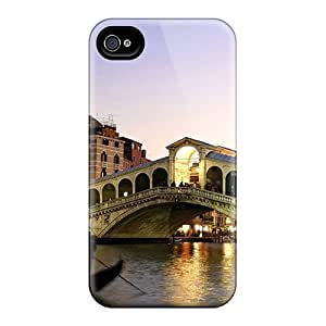 First-class Case Cover For Iphone 4/4s Dual Protection Cover Venice Italy Romantic Tourism City