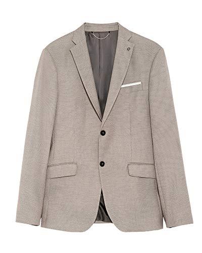 Zara Men Bird?s-Eye Suit Blazer 1564/350 (52 EU) Beige ()