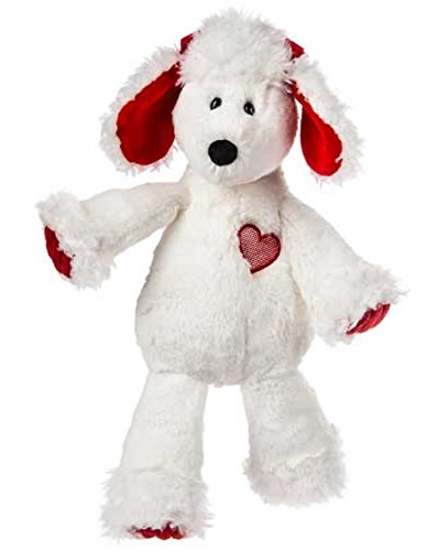 Marshmallow Paris Poodle Soft Toy, 13-Inch - White Poodle Puppies