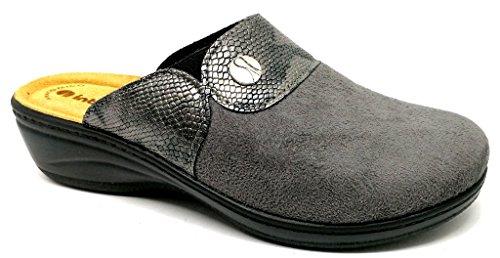 Inblu pantofole ciabatte invernali da donna art. LY-32 grigio