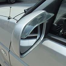 Smoke Pair Mirror Rain Wind Sun Guard Visor Visors Universal Fit Brand New Sticker
