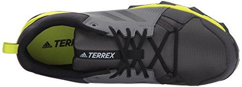 Adidas Utendørs Menns Terrex Tracerocker Trail Løpesko Grå Fire / Svart / Semi Solar Gul