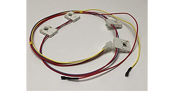 cooktop wiring amazon com wb24k10002 ap2u replacement for kenmore   ge range  amazon com wb24k10002 ap2u replacement