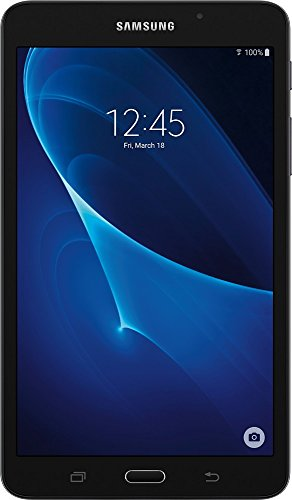 Samsung Galaxy Tab A 7-Inch Tablet (8 GB,Black) (Renewed) (Samsung 7 Inch Tablet Sd Card)