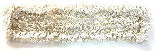 Industrial   Commercial Strength Performance Cotton Dust Mop Broom 24''x5'' Head with Aluminum Handle Quick Change Extension Handle and Frame by Unique Imports (Image #1)