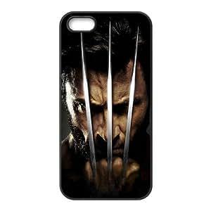 C-EUR Diy Wolverine Hard Back Case for Iphone 5 5g 5s