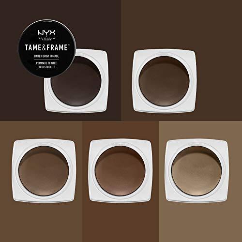 NYX PROFESSIONAL MAKEUP Tame & Frame Eyebrow Pomade, Brunette