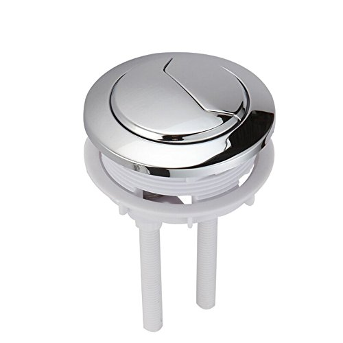 MyLifeUNIT Dual Push Flushing Toilet Button Toilet Tank Button Lever 58 mm - Dual Button