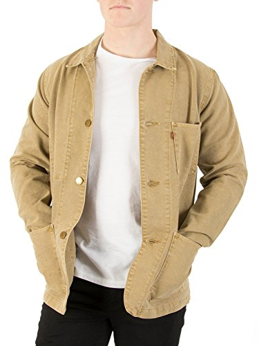 Levi's Engineers Coat 20 Jacket Medium Harvest Gold by Levi's