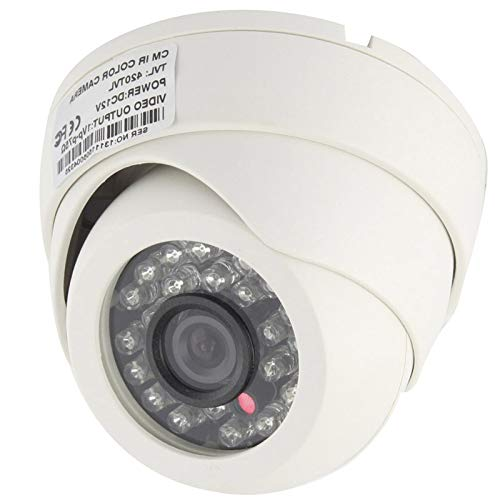 - GM New CMOS 420TVL 3.6mm Lens ABS Material Color Infrared Camera with 24 LED, IR Distance: 20m