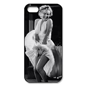 Famous Actress Monroe Plastic Durable Slim Phone Case for Iphone 5 and 5S