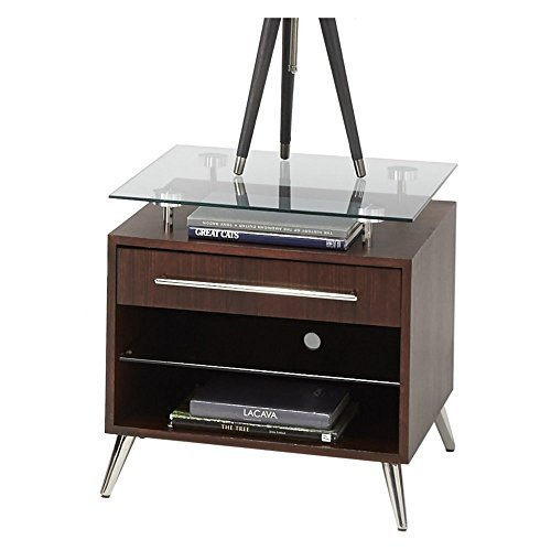 (Progressive Furniture T456-04 Studio City Table, Dark Mozambique)