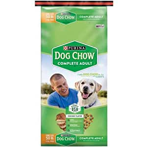 Purina dog chow complete dog food bonus size 50 lb bag for Purina game fish chow